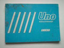Fiat Uno  Instructieboekje 89 #1 Nederlands