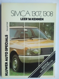 Simca 1307 1308  Leer 'm kennen 75-78 #2 Nederlands