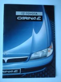 Toyota Carina E  Brochure 96 #1 Nederlands