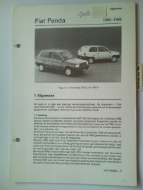 Fiat Panda  Vraagbaak ATH 86 #1 Nederlands