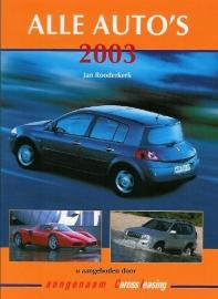 Alle Auto's   Jaarboek 2003 #1 Nederlands