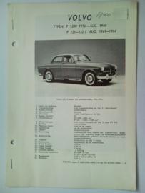 Volvo P1200 P121 P122S  Vraagbaak ATH 60-64 #2 Nederlands