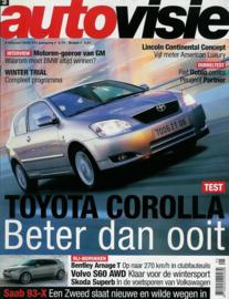 Autovisie   Tijdschrift 2002 NR 03 #1 Nederlands