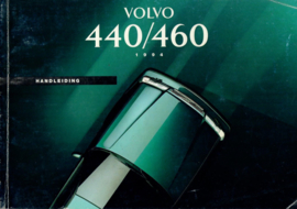 Volvo 440 460  Instructieboekje 93 #1 Nederlands