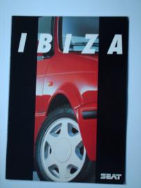 Seat Ibiza  Brochure 92 #1 Nederlands