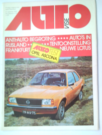 Autovisie   Tijdschrift 1975 NR 20 #1 Nederlands