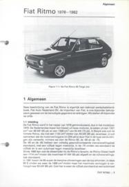 Fiat Ritmo  Vraagbaak ATH 78-82 #1 Nederlands