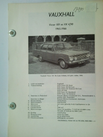 Vauxhall Victor 101 VX 4l90  Vraagbaak ATH 65-66 #1 Nederlands