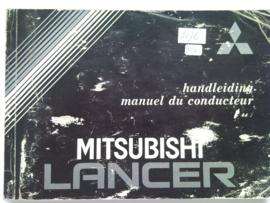 Mitsubishi Lance  Instructieboekje 84 #1 Nederlands Frans