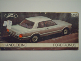 Ford Taunus  Instructieboekje 75 #1 Nederlands