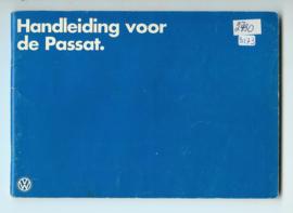 Volkswagen Passat  Instructieboekje 78 #1 Nederlands