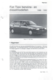 Fiat Tipo  Vraagbaak ATH 88-92 #2 Nederlands