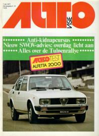 Autovisie Tijdschrift 1977 NR 10 #1 Nederlands