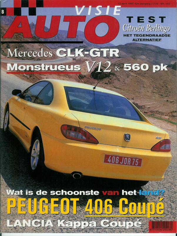 1997 Autovisie NR 08 tijdschrift