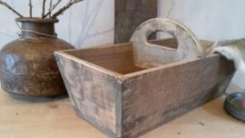 Oude graanbak/mangelbak