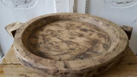 Robuuste houten schaal