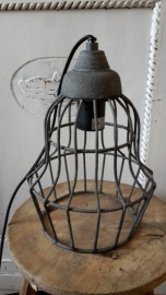 Stoere hanglamp cement