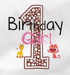 "cake smash setje ""1 Birthday Girl "" creme met haarband"