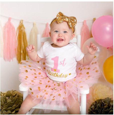 "Cake smash setje ""1st Birthday"""