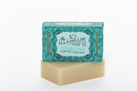 Cedarwood and Lemongrass Soap - 100% Natuurlijk