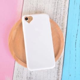Telefoonhoesje - Iphone 6/6S - Minimal Heart White