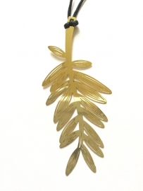 Boekenlegger Gold Plated - Golden Palmtree
