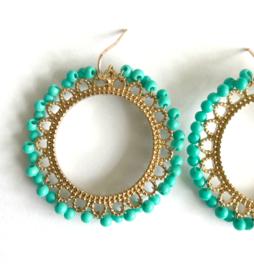 Oorbellen - Flora Statement Earrings