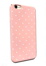 Telefoonhoesje - Iphone 6/6S - Dotty Dot Pink