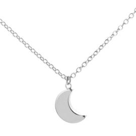 Ketting - Hello Moon Silver