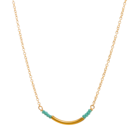 Ketting - Turquoise Beads