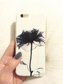 Telefoonhoesje - Iphone 6/6S - Black & White