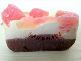 100% natuurlijke zeep / haarzeep - Pink Sugar