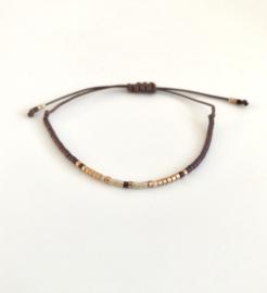 Armband - Brown Boho Bracelet