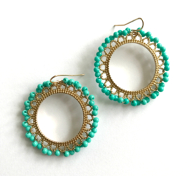 Oorbellen - Flora Statement Earrings