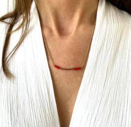 Ketting - Orange Beads