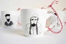 Koffiemok - Parka Man mug by Helen B