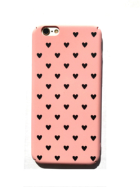 Telefoonhoesje - Iphone 6/6S - I Heart You Pink