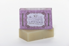 Lavender, Mint, Rosemary and Thyme Soap - 100% Natuurlijk