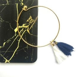 Armband - Gold & Tassels