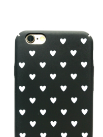 Telefoonhoesje - Iphone 7 / 8 - I Heart You Black