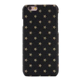 Telefoonhoesje- Iphone 7 / 8 - Golden Stars Black