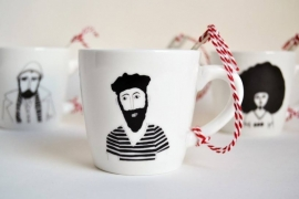 Koffiemok - Venice Man mug by Helen B