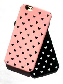 Telefoonhoesje - Iphone 7 / 8 - I Heart You Pink