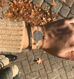 Armband - Heart full of love Gold