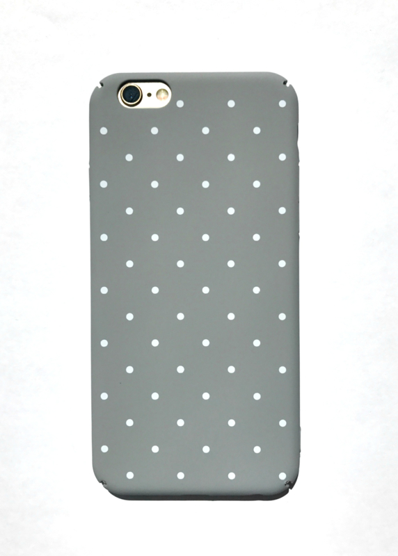 Telefoonhoesje - Iphone 6/6S - Dotty Dot Grey