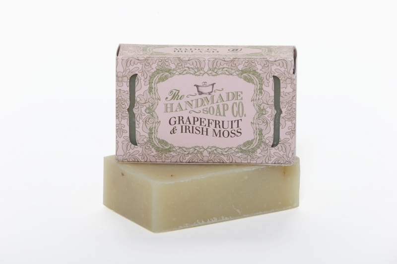 Grapefruit and Irish Moss Soap - 100% Natuurlijk