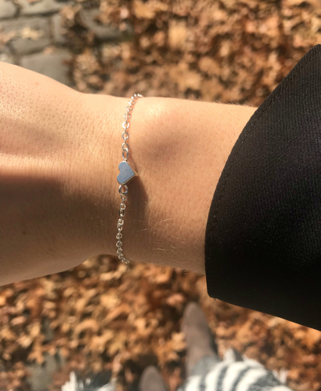 Armband - Heart full of love Silver