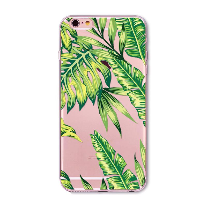 Telefoonhoesje - Iphone 6/6S - Forest Leaves