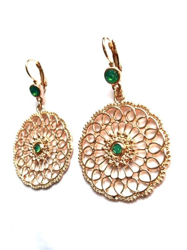 Oorbellen Oriental - Rose Gold