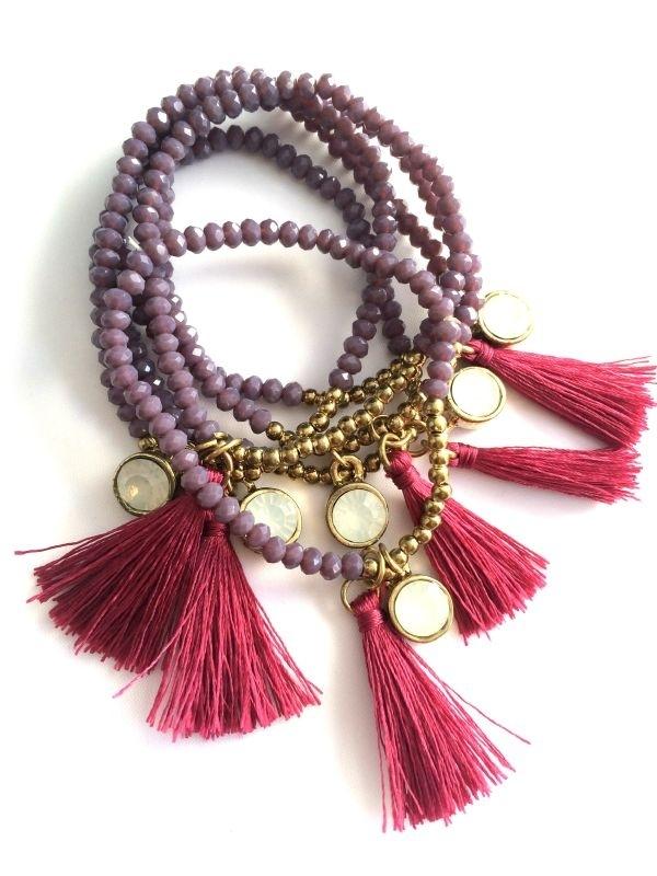 Armband Purple Rain